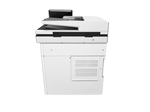 HP Color LaserJet Enterprise MFP M577dn - Rear