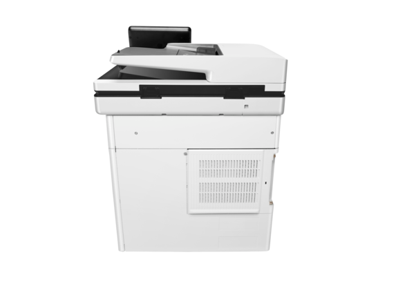 HP Color LaserJet Enterprise MFP M577f - Rear