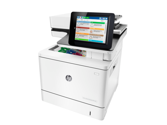 HP Color LaserJet Enterprise MFP M577f - Left