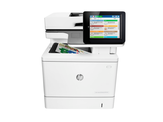 HP Color LaserJet Enterprise MFP M577f - Center