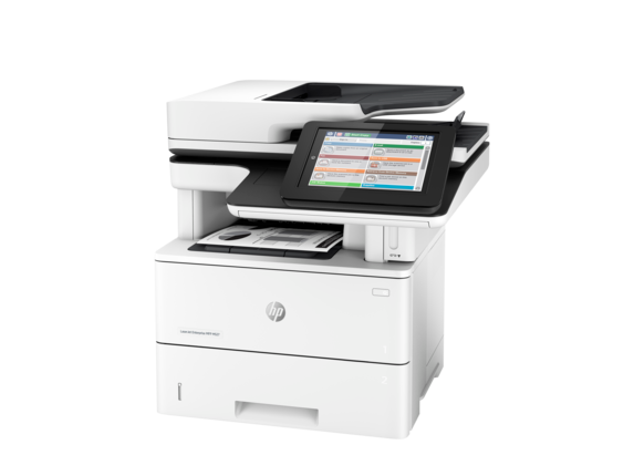 HP LaserJet Enterprise MFP M527f - Left