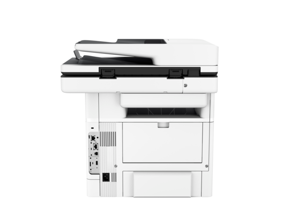 HP LaserJet Enterprise Flow MFP M527z - Rear