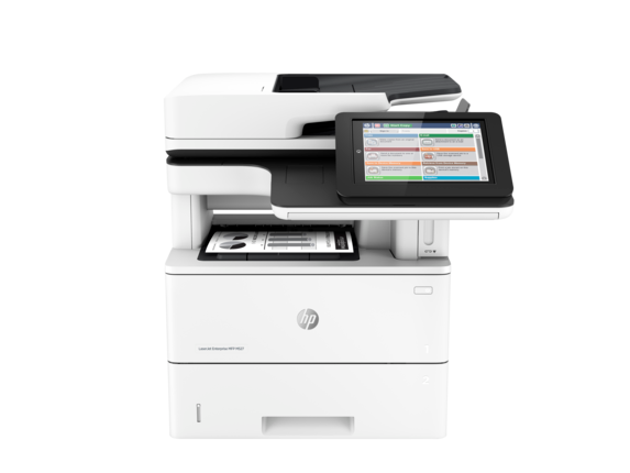 HP LaserJet Enterprise MFP M527f - Center
