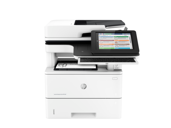 HP LaserJet Enterprise Flow MFP M527z - Center
