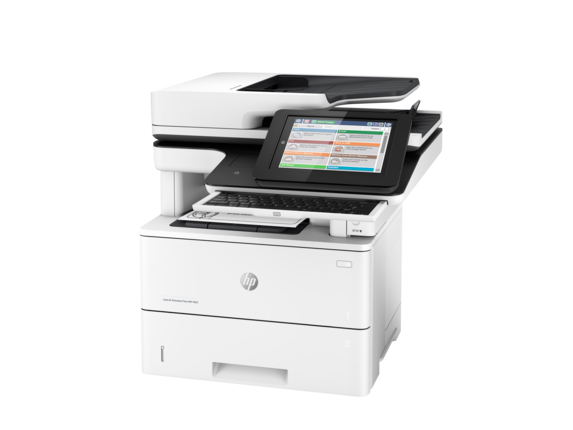 HP LaserJet Enterprise Flow MFP M527z - Left