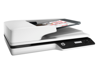 HP ScanJet Pro 3500 f1 Flatbed Scanner - Img_Right_320_240