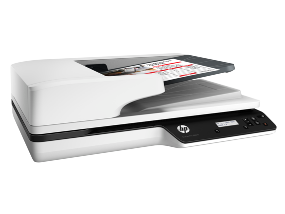 HP ScanJet Pro 3500 f1 Flatbed Scanner - Right
