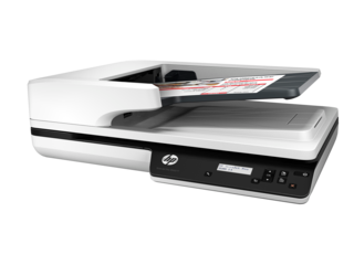 HP ScanJet Pro 3500 f1 Flatbed Scanner - Img_Left_320_240