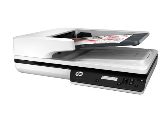 HP ScanJet Pro 3500 f1 Flatbed Scanner - Left
