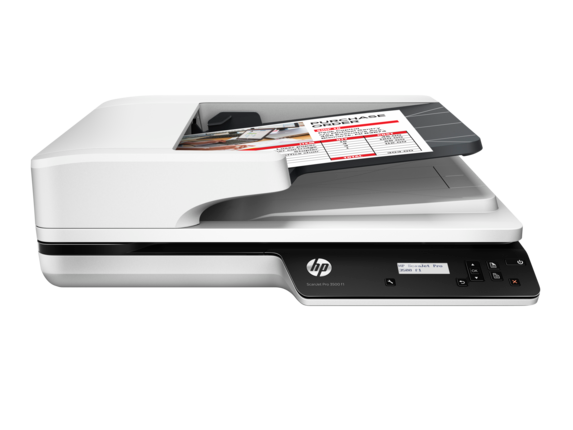 HP ScanJet Pro 3500 f1 Flatbed Scanner - Center