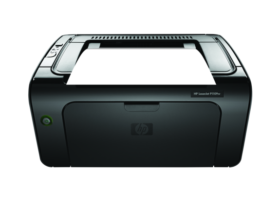 HP LaserJet Pro P1109w Printer - Center