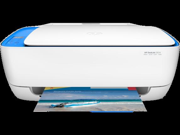 HP DeskJet 3634 All-in-One Printer - Center