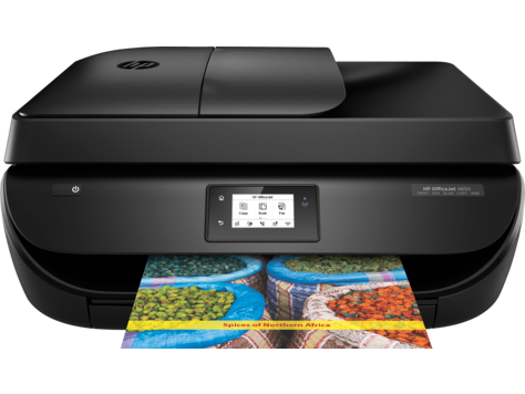 HP OfficeJet 4650 All-in-One Printer series How to | HP