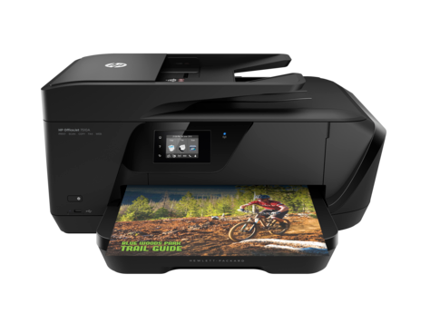 Impressora HP Officejet série 7510 All-in-One para formatos grandes
