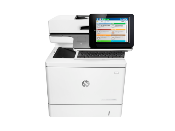 HP Color LaserJet Enterprise Flow MFP M577z - Center