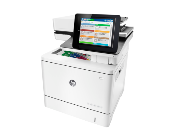 HP Color LaserJet Enterprise Flow MFP M577z - Left