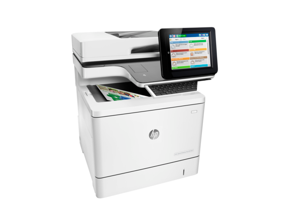 HP Color LaserJet Enterprise Flow MFP M577z - Right