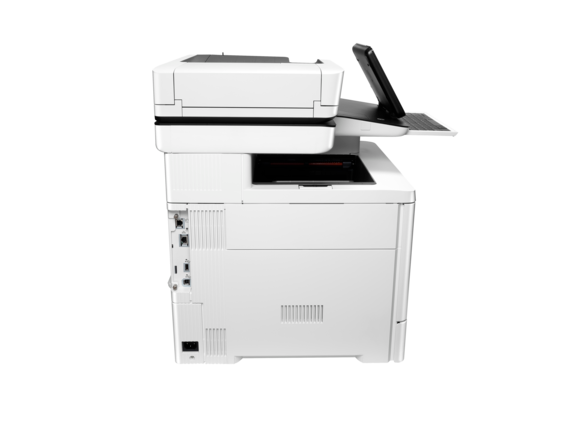 HP Color LaserJet Enterprise Flow MFP M577z - Rear