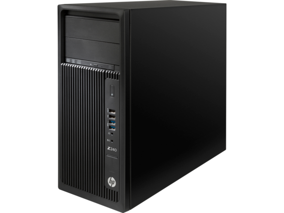 HP Z240 Tower Workstation - Left