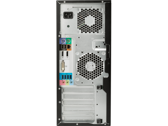 HP Z240 Tower Workstation - Customizable - Rear