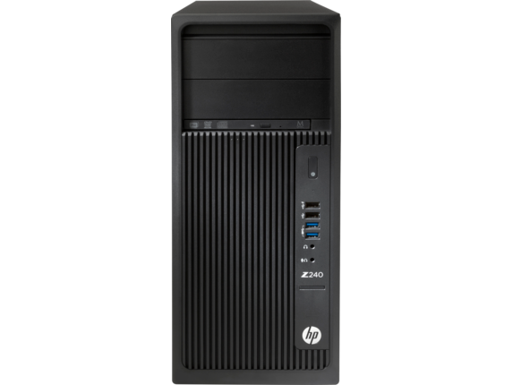 HP Z240 Tower Workstation (ENERGY STAR) - Center