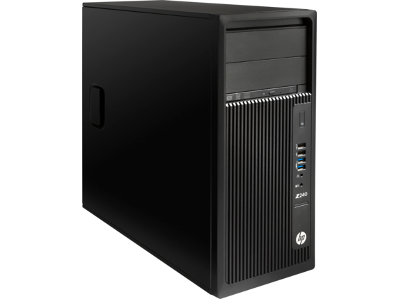 HP Z240 Tower Workstation - Right