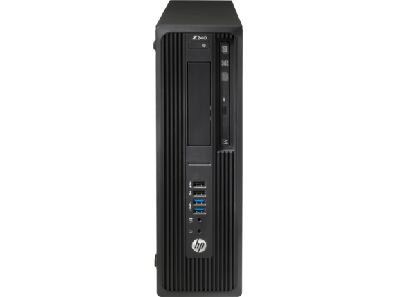 HP Z240 Small Form Factor Workstation - Center