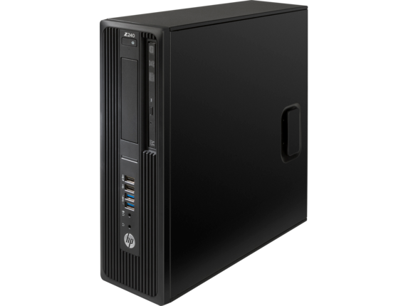 HP Z240 Small Form Factor Workstation - Customizable - Left