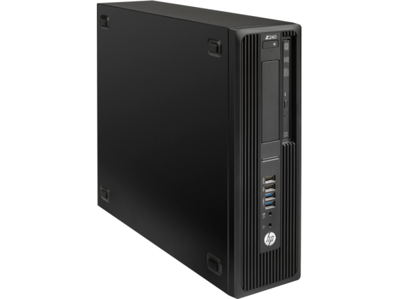 HP Z240 Small Form Factor Workstation (ENERGY STAR) - Right