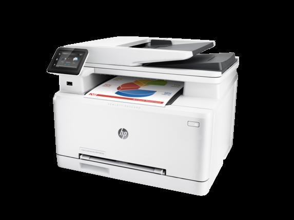 HP Color LaserJet Pro MFP M274n - Left