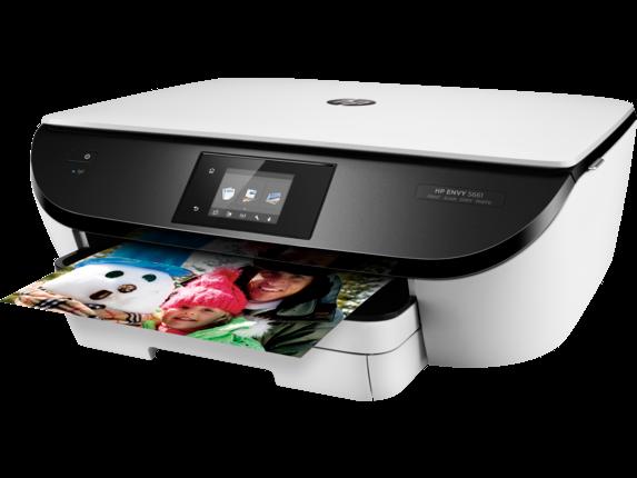 HP ENVY 5661 e-All-in-One Printer - Left