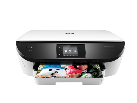 HP ENVY 5661 e-All-in-One Printer - Center