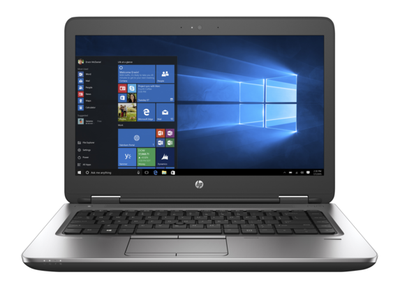 HP ProBook 640 G2 Notebook PC (ENERGY STAR) - Center