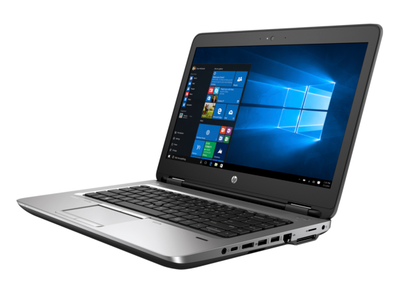 HP ProBook 640 G2 Notebook PC (ENERGY STAR) - Left