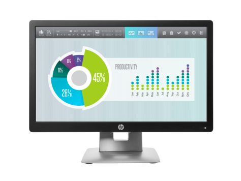 Monitor HP EliteDisplay E202 de 20 pulgadas