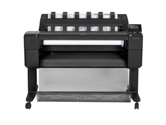 HP DesignJet T930 36-in PostScript Printer with Encrypted Hard Disk