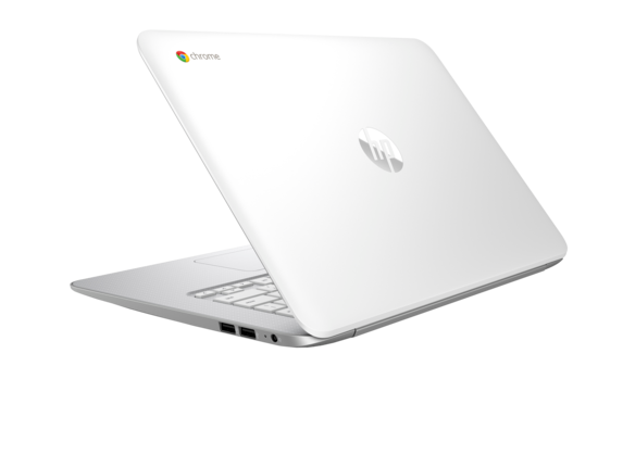 HP Chromebook - 14-ak040nr - Left rear