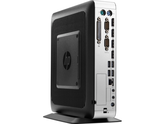 HP t730 Thin Client - Left rear