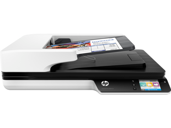 HP ScanJet Pro 4500 fn1 Network Scanner - Center