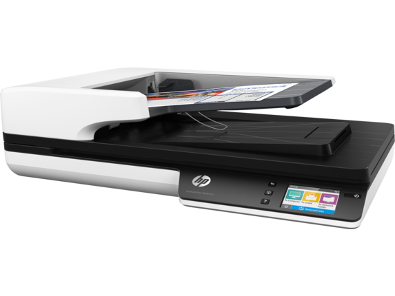 HP ScanJet Pro 4500 fn1 Network Scanner - Left