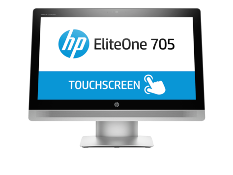 HP EliteOne 705 G2-23-Zoll-All-in-One-PC mit Touch-Funktion