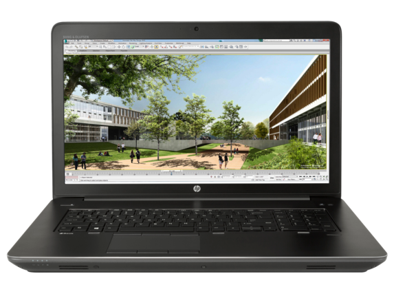 HP ZBook 17 G3 Mobile Workstation (ENERGY STAR) - Center