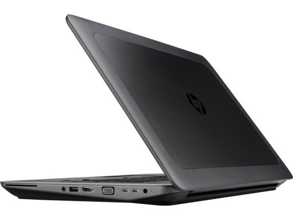 HP ZBook 17 G3 Mobile Workstation (ENERGY STAR) - Left rear