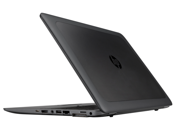 HP ZBook 15u G3 Mobile Workstation (ENERGY STAR) - Left rear