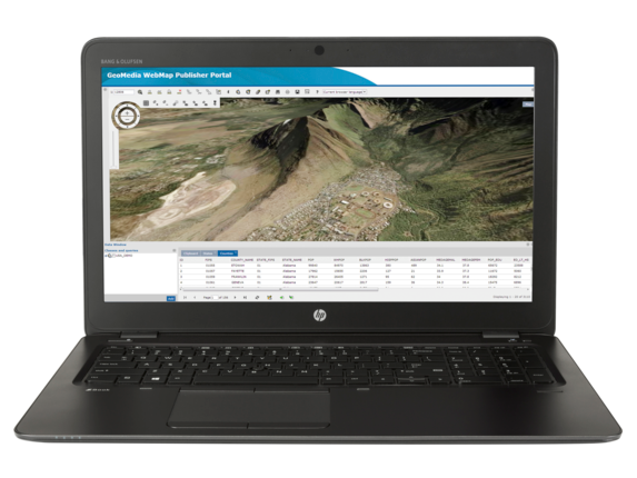 HP ZBook 15u G3 Mobile Workstation - Customizable - Center