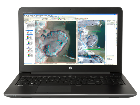 HP ZBook 15 G3 Mobile Workstation (ENERGY STAR) - Center
