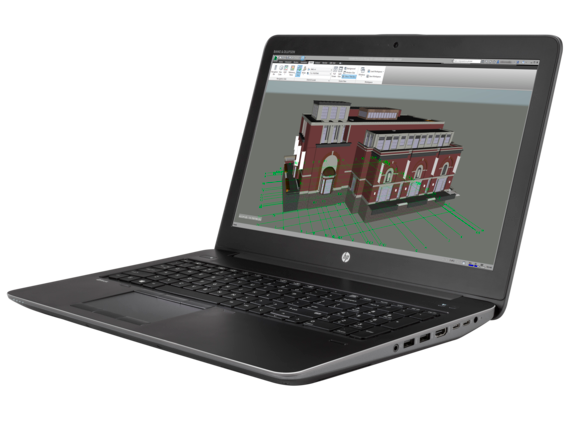 HP ZBook 15 G3 Mobile Workstation - Customizable - Left