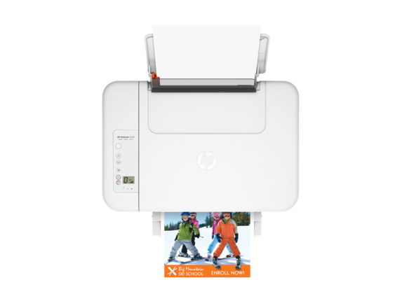 HP Deskjet 2549 All-in-One Printer - Top view closed