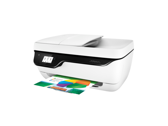 HP OfficeJet 3831 All-in-One Printer - Left