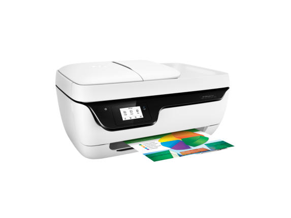 HP OfficeJet 3831 All-in-One Printer - Right